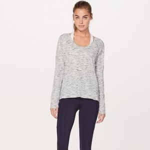 """Lululemon """"Meant to Move"""" Long Sleeve Top"""